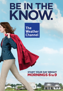 The Weather Channel print ad