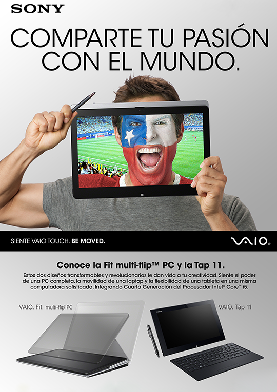 Sony Vaio World Cup soccer Ad
