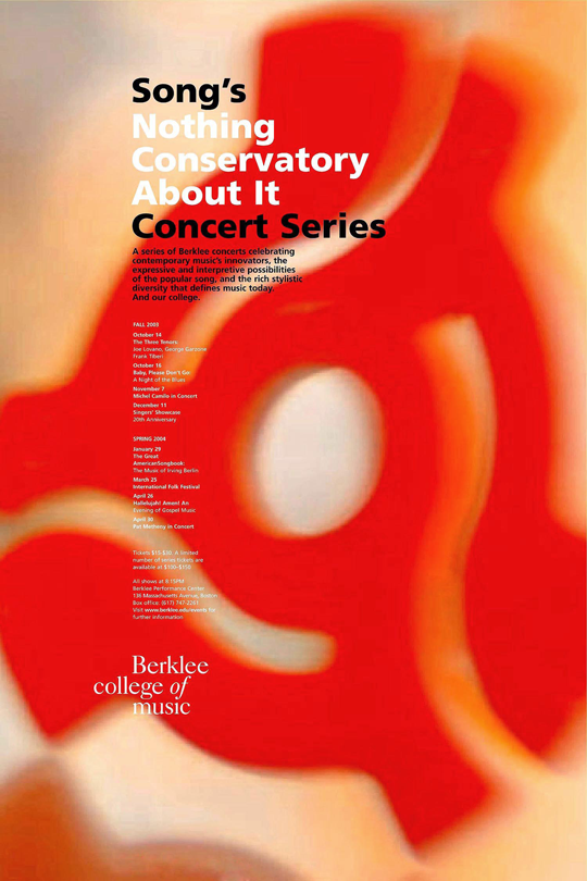 Berklee College of Music poster comp