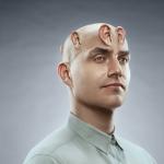 DTS Headphone-X man concept shot for print ad