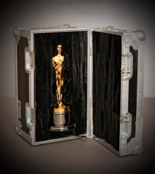 Oscar case concept shot for poster
