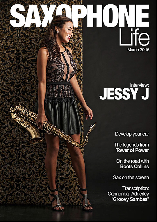 Jessy J Saxophone