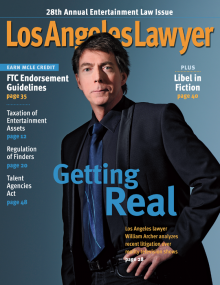LA Lawyer May 2012 cover shot