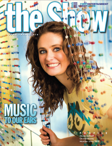 First Entertainment Credit Union The Show issue 26 cover shot Stacey Zafiroff