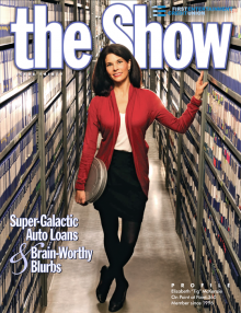 First Entertainment Credit Union The Show issue 30 cover shot Elizabeth Tig McKenzie