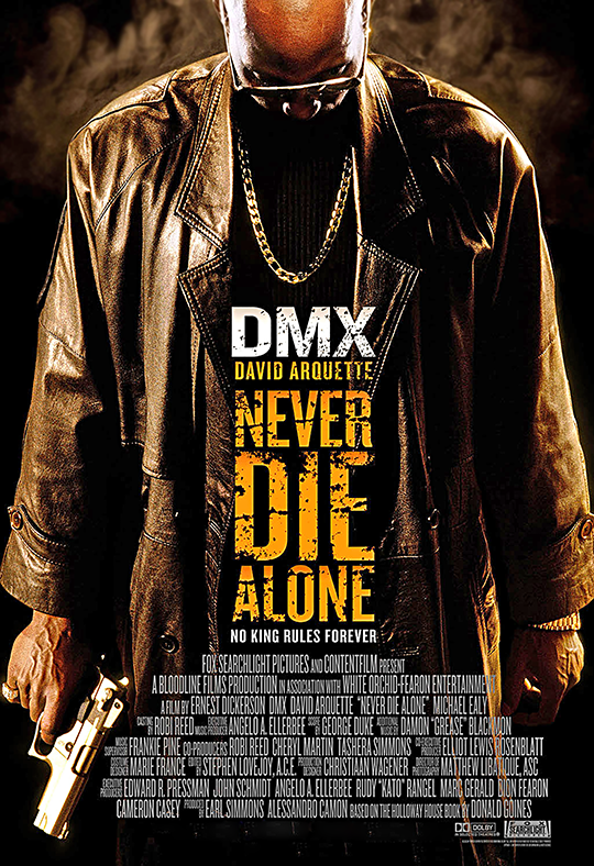 DMX Never Die Alone poster