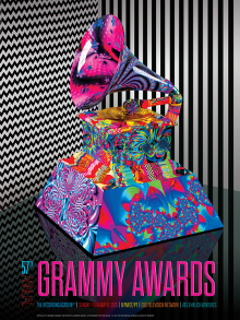 57th Annual Grammy Awards Poster 2015