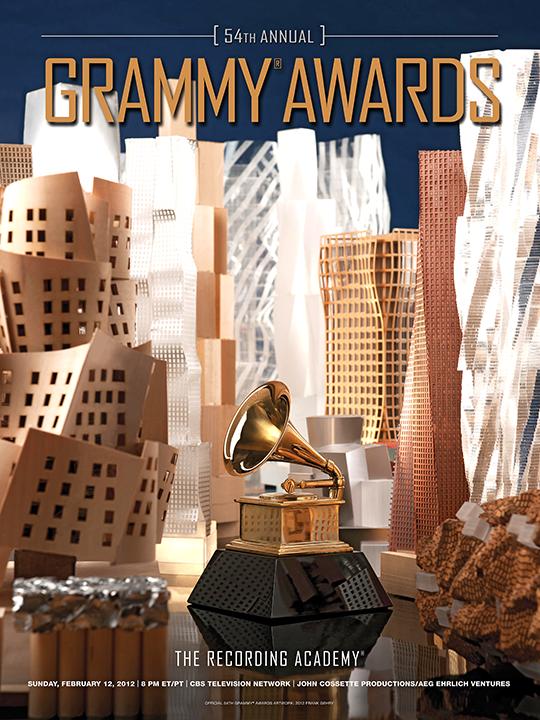 Grammy Awards Program Frank Gehry