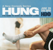 Hung HBO promo poster
