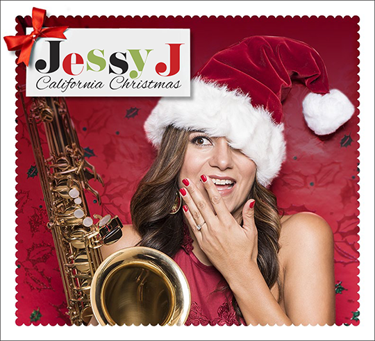 Jessy J California Christmas CD Package