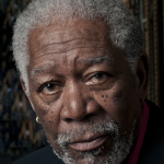 Actor Morgan Freeman portrait