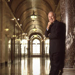 Los Angeles Mayor Richard Riordan portrait