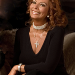 Actress Sophia Loren portrait