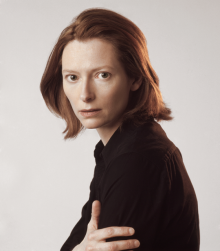 Actress Tilda Swinton portrait