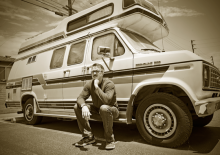 Vince Gilligan Breaking Bad portrait